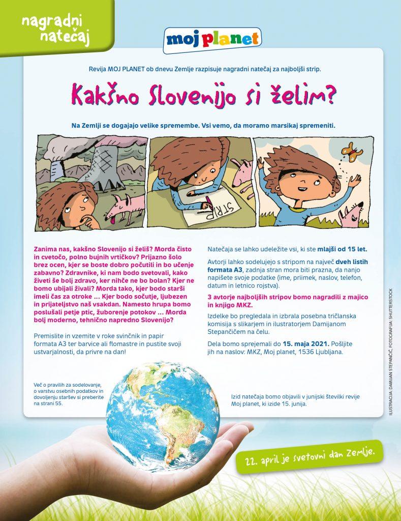 Kakšno Slovenijo si želim? Moj planet